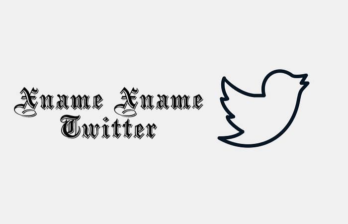 xname xname Twitter
