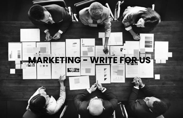 Marketing - Write for us