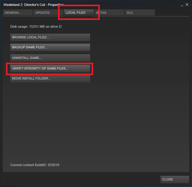 steam content file locked