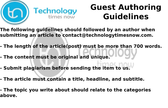 technology timesnow guidelines